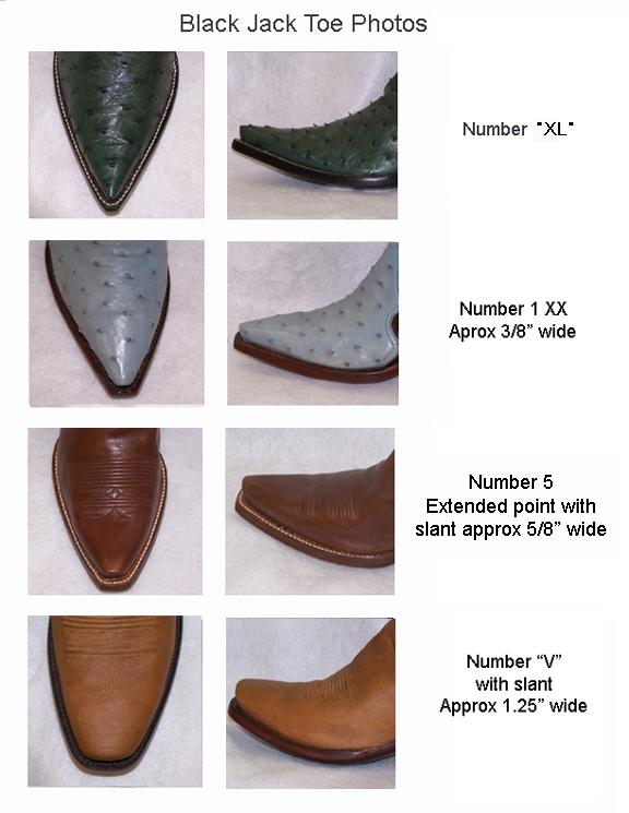Cowboy Boot Toes & Heels